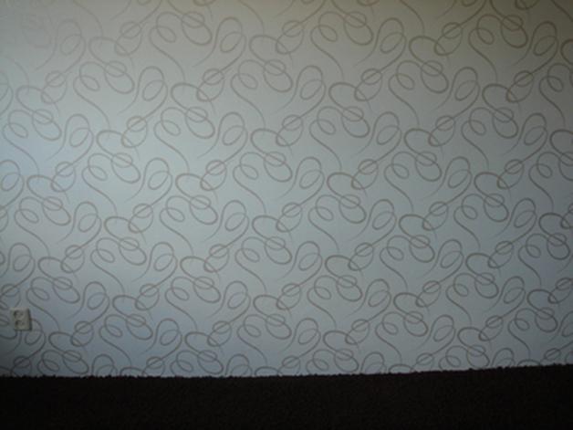 Behang Met Patroon : Wandafwerking behang glasweefsel